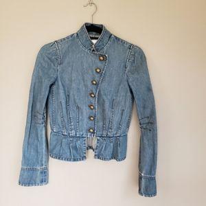 Marc Jacobs military jean jacket 2